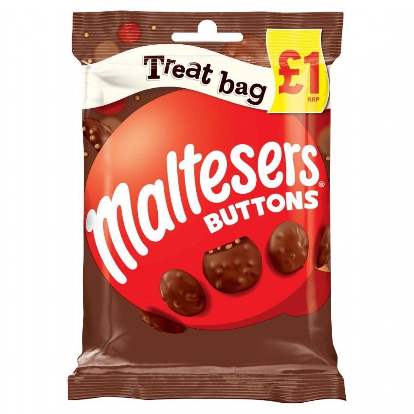 Maltesers Buttons Milk Chocolate Mars 68g